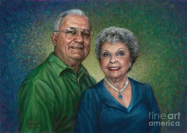 Wall Art - Painting - My Parents Portrait by Jane Bucci