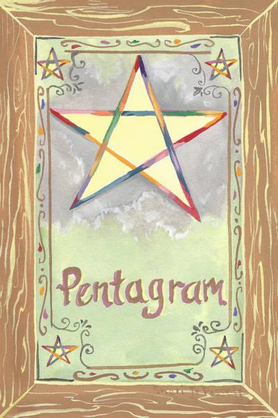 Painting - My Pentagram by Sheri Jo Posselt