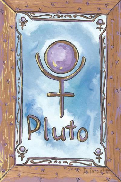 Painting - My Pluto by Sheri Jo Posselt