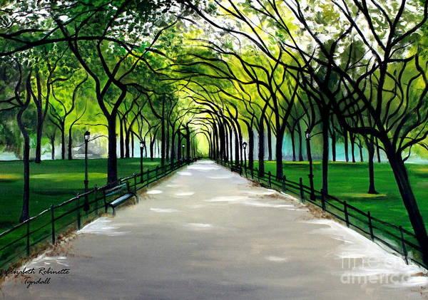 Painting - My Poet's Walk by Elizabeth Robinette Tyndall