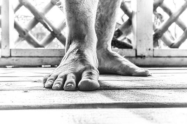 Photograph - My Right Foot by Sharon Popek