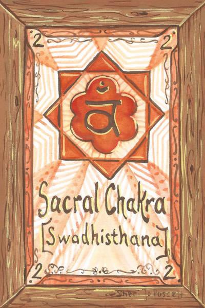Painting - My Sacral Chakra by Sheri Jo Posselt