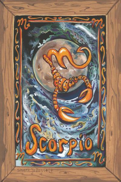 My Scorpio Art Print