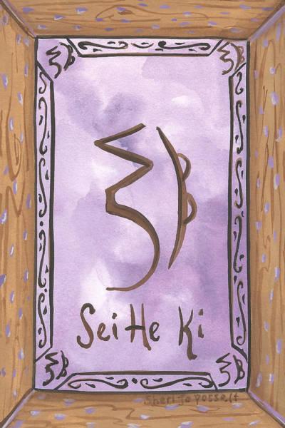 Painting - My Sei He Ki by Sheri Jo Posselt