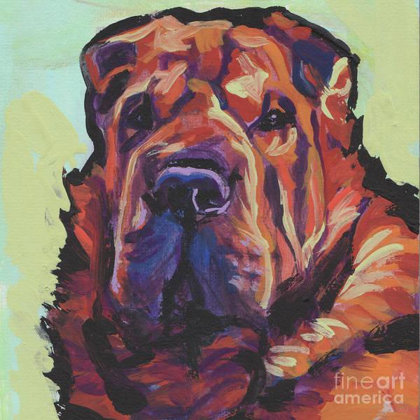 Wall Art - Painting - My Shar Bear by Lea