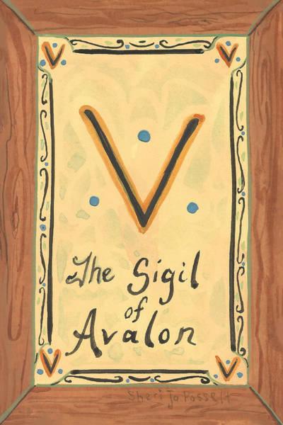 Painting - My Sigil Of Avalon by Sheri Jo Posselt