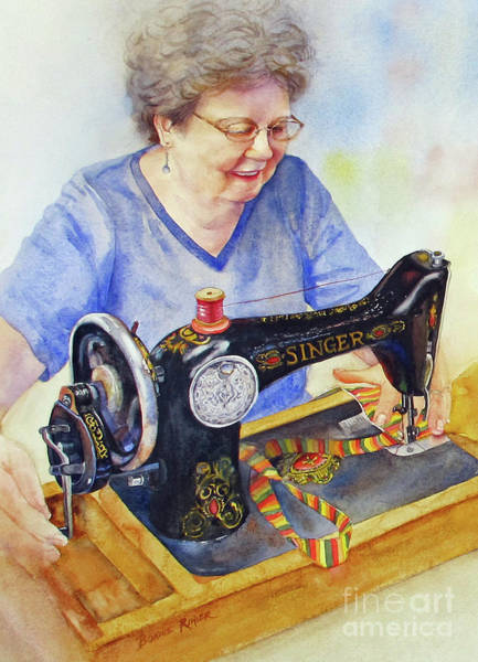 Machinery Painting - My Sister's Joy by Bonnie Rinier