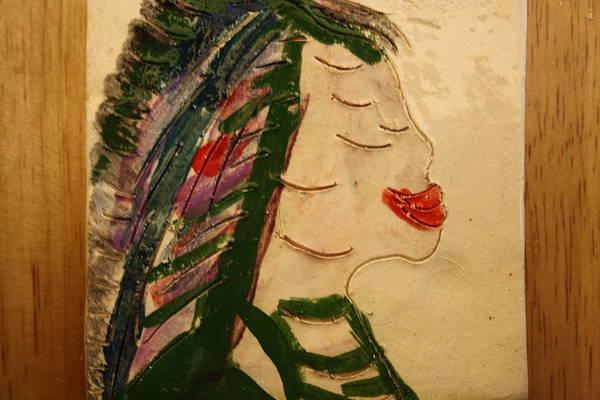 Ceramic Art - My Smile  - Tile by Gloria Ssali