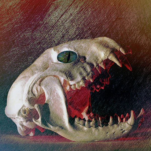 Digital Art - My Spooky Gothic Halloween  by OLena Art Brand