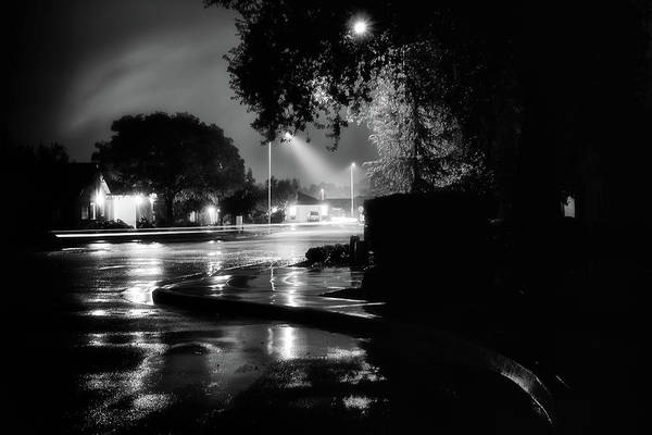 Subdivision Photograph - My Street  by Marnie Patchett