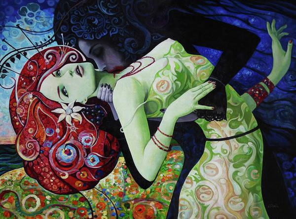Wall Art - Painting - My Summer Vine by Adrian Borda