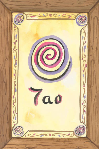 Painting - My Tao by Sheri Jo Posselt