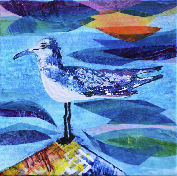 Mixed Media - My Tern by Paper Jewels By Julia Malakoff