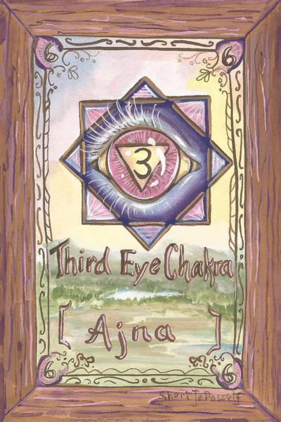 Painting - My Third Eye Chakra by Sheri Jo Posselt