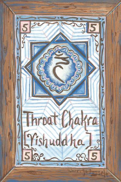 Painting - My Throat Chakra by Sheri Jo Posselt