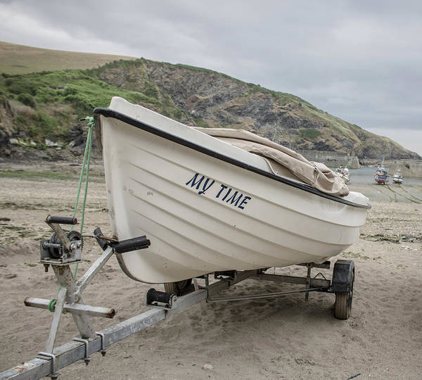 Fishing Village Photograph - My Time by Martin Newman