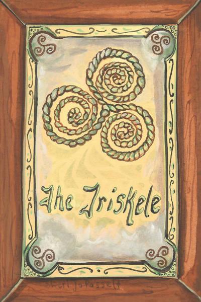 Painting - My Triskele by Sheri Jo Posselt