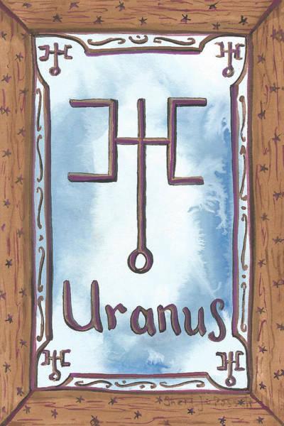 Painting - My Uranus by Sheri Jo Posselt