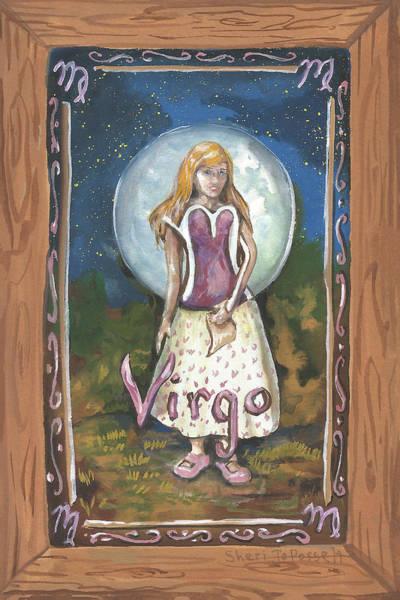 Painting - My Virgo by Sheri Jo Posselt