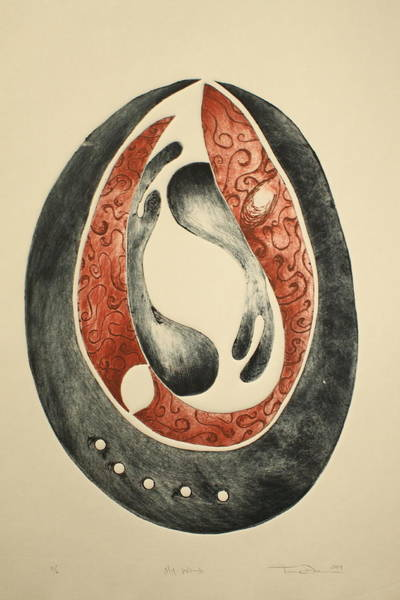Womb Painting - My Womb by Tamra Pfeifle Davisson