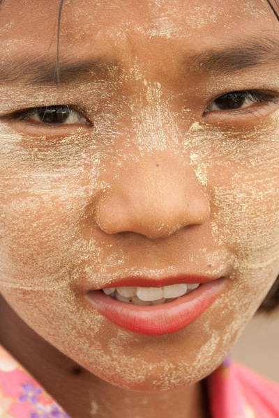 Photograph - Myanmar Girl by Matthew Bamberg