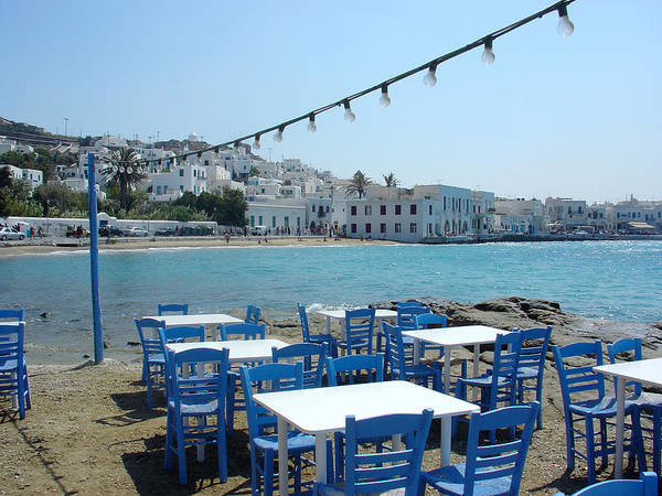 Photograph - Mykonos Blue And White by Julie Palencia