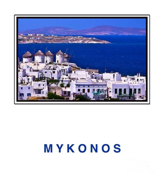 Houses Wall Art - Photograph - Mykonos by Madeline Ellis