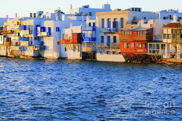 Photograph - Mykonos Merveilleux by Donna L Munro
