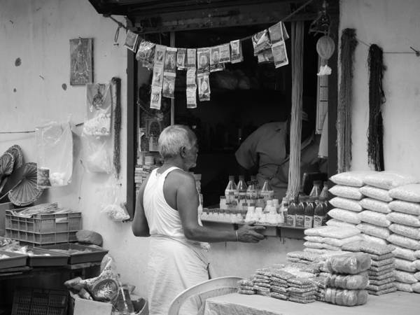 Photograph - Mylapore Storefront by Richard Reeve