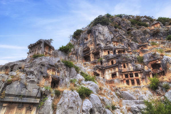 Stadt Photograph - Myra - Turkey by Joana Kruse