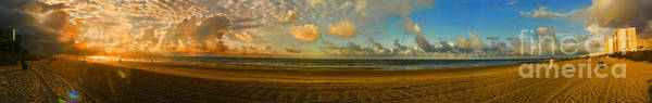 Photograph - Myrtle Beach Panorama by Jeff Breiman