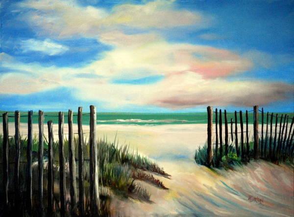 Painting - Myrtle Beach Sands by Phil Burton