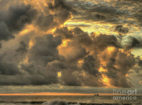 Photograph - Myrtle Beach Seascape by Jeff Breiman