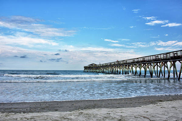Wall Art - Photograph - Myrtle Beach State Park Fishing Pier by Brendan Reals