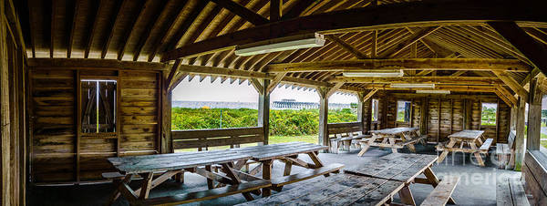 Photograph - Myrtle Beach State Park Picnic Shelter by David Smith