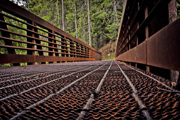 Photograph - Myrtle Creek Bridge by Albert Seger