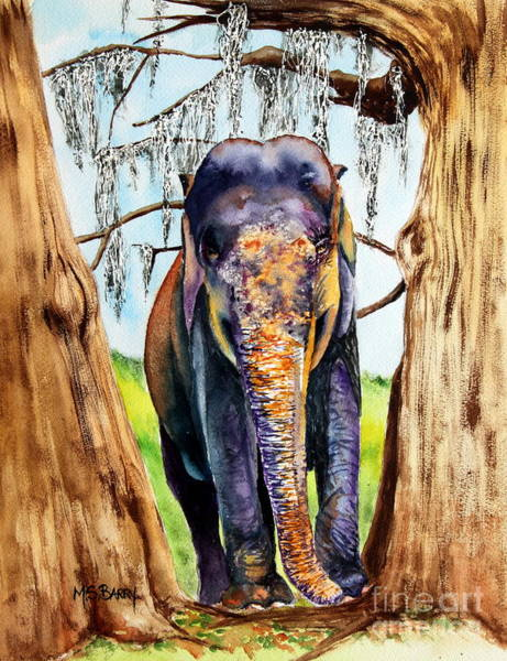Painting - Mysore by Maria Barry