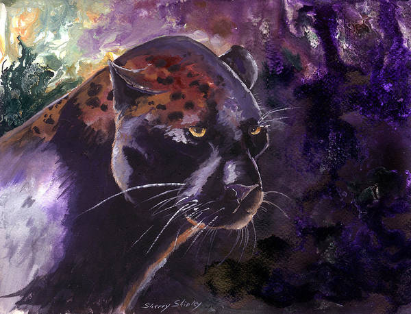 Painting - Mystere by Sherry Shipley