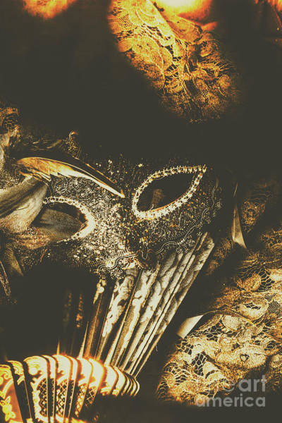 Masquerade Wall Art - Photograph - Mysterious Disguise by Jorgo Photography - Wall Art Gallery