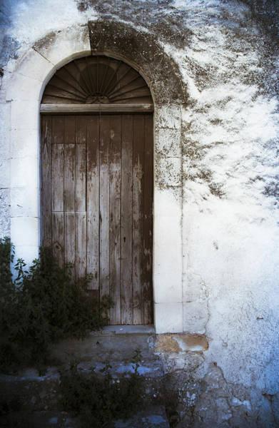 Photograph - Mysterious Door by Maria Heyens