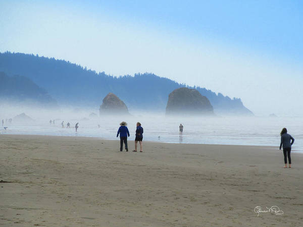 Photograph - Mysterious Morn On Cannon Beach by Susan Molnar