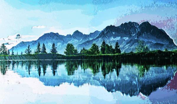 Mountaineer Digital Art - Mysterious Mountain by Asif Zaman