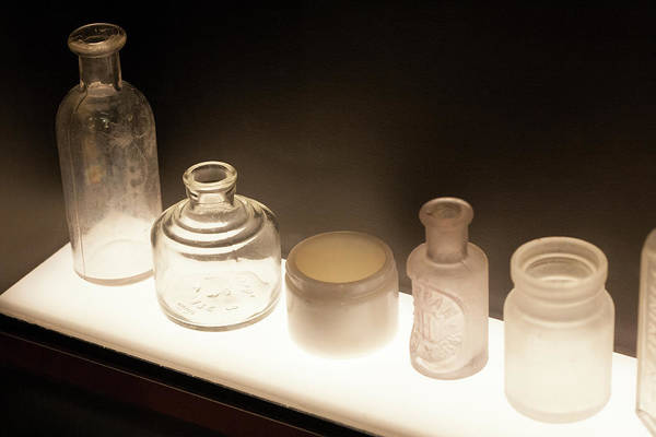 Wall Art - Photograph - Mysterious Old Bottles by Marilyn Hunt