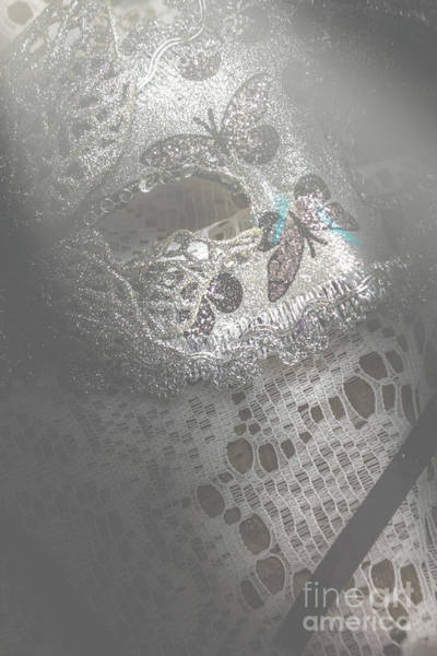 Masquerade Wall Art - Photograph - Mysterious Pantomime Play  by Jorgo Photography - Wall Art Gallery