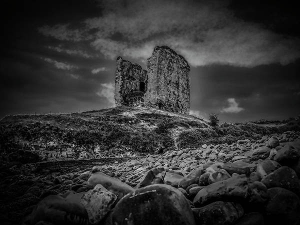 Photograph - Mysterious Past Bw. by Leif Sohlman