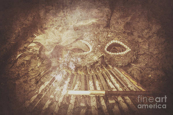 Classical Wall Art - Photograph - Mysterious Vintage Masquerade by Jorgo Photography - Wall Art Gallery
