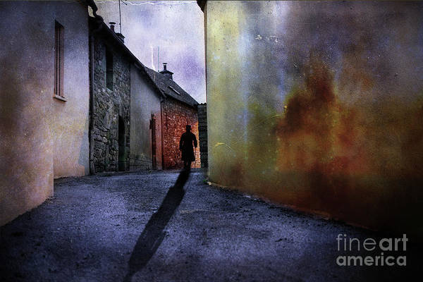 Colour Mixed Media - Mystery Corner by Jim Hatch