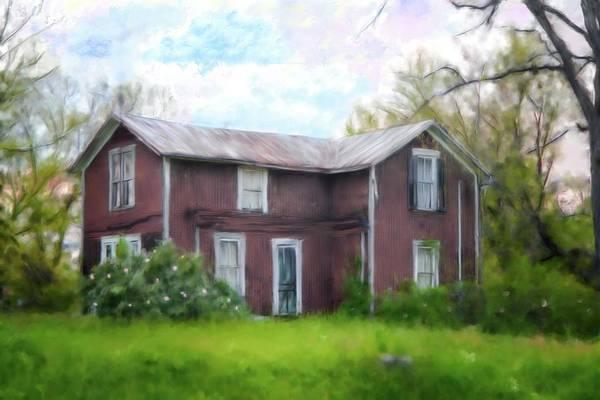 Brick House Mixed Media - Mystery House by Mary Timman