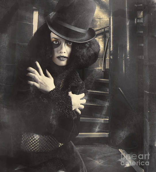 Black Magic Woman Wall Art - Photograph - Mystery Magician In Halls Of Magic And Illusion by Jorgo Photography - Wall Art Gallery