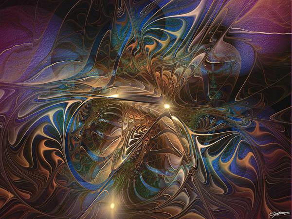 Cloak Digital Art - Mystery Spread Its Cloak by Casey Kotas